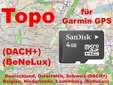 Karte*Deutschland+DACH+BeNeLux*MicroSD*GPS*für Garmin*Etrex 20/30*Dakota 20*Nüvi