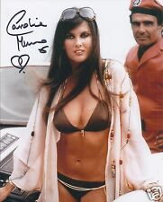 CAROLINE MUNRO SIGNED 007 JAMES BOND 8x10 PHOTOGRAPH 3 - UACC & AFTAL AUTOGRAPH
