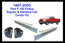 1997-2003 FORD F-150 PICKUP STANDARD REGULAR CAB ROCKER PANELS AND CAB CORNERS