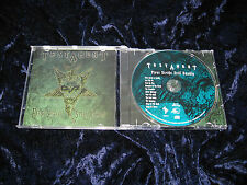 TESTAMENT CD FIRST STRIKE DEADLY brazilian press Sum Records EX/EX