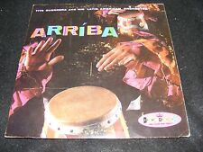 ARRIBA Red Vinyl CROWN Stereo Lp Latin Exotica TITO GUERERRA & Orchest Late 50s