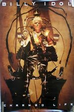 Rare Billy Idol Charmed Life 1990 Vintage Orig Music Record Store Promo Poster