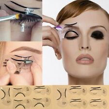 6pz Stencil Scheda Trucco Modello Occhio Eyeliner Bellezza Kit Di Gatto Donna