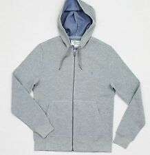 ORIGINAL PENGUIN Men's Gray Cotton/Polyester Thermal LS Hoodie Shirt (S) NWT $89