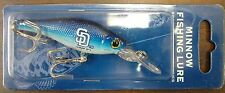 SAN DIEGO PADRES MINNOW FISHING LURE BRAND NEW FREE SHIPPING