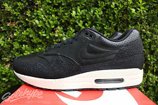 NIKE AIR MAX 1 LEATHER PA SZ 8.5 STINGRAY BLACK SEA GLASS 705007 001