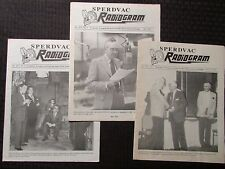 1990/91 RADIOGRAM Sperdvac Radio Newsletter Fanzine LOT of 3 VG/VG+ Sept Jan May