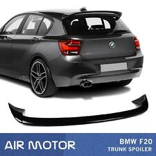 Painted Color BMW 1-Series F20 F21 5D 3D Hatchback A Look Trunk Spoiler Wing