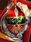 Waterford Holiday Heirlooms Crimson Spire Christmas Ornament New