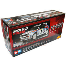 Tamiya 1:10 TT02 Lancia Delta Integrale ESC EP On Off Road RC Car Kit #58570