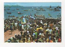 Brazil Salvador Procissao Maritima do Senhor dos Navegantes Postcard 780a