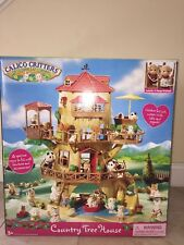 Calico Critters Country Tree House New In Box CC2044
