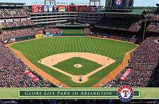 Texas Rangers GLOBE LIFE PARK GAMEDAY Official MLB Baseball Wall POSTER