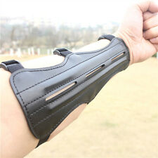 Leather Shooting Archery Arm Protection Safe/Straps Guard Protective Gear