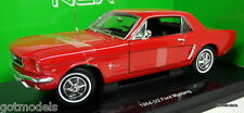 NEX 1/18 Scale - 12519W 1964 1/2 Ford Mustang Red diecast model car