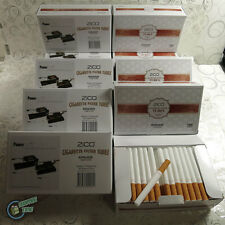 ZICO EMPTY cigarette TUBE 4 Powermatic 1 2 Injector Making Machine Tobacco Mini