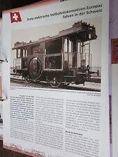 Chronik der Eisenbahn 1B: 1899 Schweiz 1. elektrische Vollbahnlopkomotive