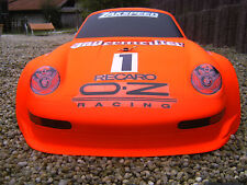 1:5 GFK Karosserie Carson C5, FG oder andere Modelle,  GT2 RACE  Neu !!!!