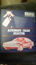 Sherwin Williams Alternate Color Paint Chips Domestic & Import