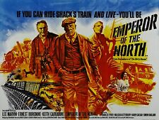 "Emperor of the North 16"" x 12"" Reproduction Movie Poster Photograph"