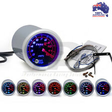 52mm Type R 7 COLOR Exhaust Gas Temperature EGT Gauge Universal Fit
