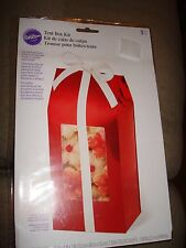 "WILSON TENT BOX KIT FOIL TREAT BOXES 3 BOXES  8.5"" X 4"" X 3"""