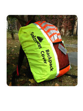Salzmann High Visibility Reflective Cycling Rucsack Backpack Cover Yellow/Orange