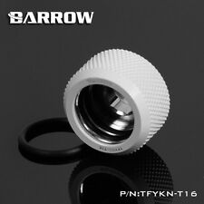 Barrow Water Cooling Compression Fitting For Rigid Acrylic Tubing OD 16mm White