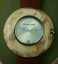 Michael Kors 44mm classic Cream Watch RETIRED MK4078 In Good condition