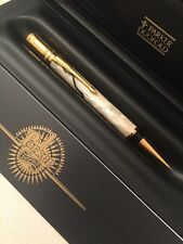 1997 PARKER DUOFOLD PEARL & BLACK GT MECHANICAL PENCIL-UK-BOXED-SUPERB