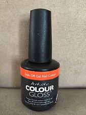 Artistic Gel Color Nail Design Colour Gloss Soak Off Gel Polish 15ml / Part 1