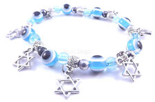 Star Of David Magen Bracelet Kabbalah Evil Lucky Eye Judaica Hamsa Hand Jewish