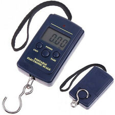 Pocket Electronic Digital Scale 40 kg Hanging Luggage Weight Steelyard Kitchen
