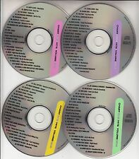 4 VCD's PINK COLDPLAY RIHANNA KATY PERRY LADYHAWKE BEYONCE LILY ALLEN AKON MGMT