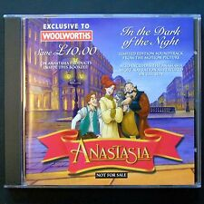 RARE Woolworths Limited Edition Promo CD - Anastasia In The Dark Of The Night