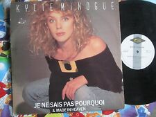 "Kylie Minogue Je Ne Sais Pas Pourquoi / Made In Heaven UK Vinyl 12"" Maxi-Single"
