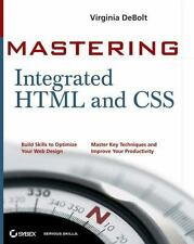Mastering Integrated HTML and CSS (Mastering)
