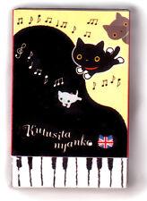 "Kutsushita Nyanko San-X Katze Radiergummi ""Piano"" eraser rubber Cute Kawaii cat"