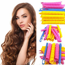 Fashion 18PCS Hair Rollers DIY Curlers Magic Circle Twist Spiral Styling Tool