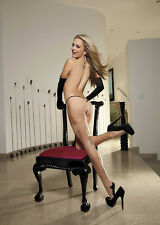 Cuban Heel Back Seam Thigh-High Stockings Shirley of Hollywood 90247 Nude/Black