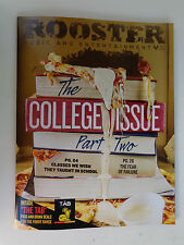 ROOSTER Magazine Sep 2015: College,Vaping,Apps,Hot Sauce,Wiz Khalifa,Zedd,Dates+