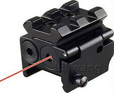 Detachable Picatinny Rail Red Laser Sight Fit For Crossbow Rifle Airsoft Pistol