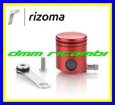 Serbatoio Olio Freno/Frizione Moto RIZOMA CT025 attacco laterale alluminio Rosso