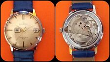 HELBROS-INVICIBLE-vintage mechanical watch-cal.PUW 363-anni'60-West Germany-rare