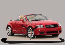 MINIATURE, MODEL CARS, AUDI TT - 04 en horloge