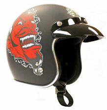 Rare! Limited Edition Lucky 13 Grease Gas Glory Motorcycle Dot Helmet M $14