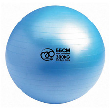Fitness Mad Core FBALL55 300kg Workout Exercise Burst Resist Swiss Ball - 55cm