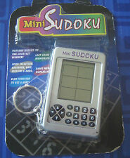 Mini Sudoku Keychain Electronic Handheld Travel Game New In Package Sealed