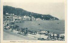 Rapallo Passeggiata a Mare - Animatissima Scolari -  viaggiata anni '20