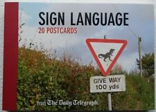 Daily Telegraph Sign Language Postcard Book by The Daily Telegraph 9780711236257